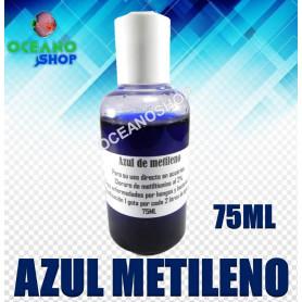 azul metileno 75ml 2% peces enfermos desparasitar hongos bacterias acuario cloruro metiltionina