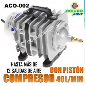 Compresor de aire potente 40l/min 35W ACO-002