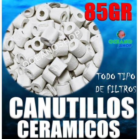 Canutillos de ceramica para filtros 85gr