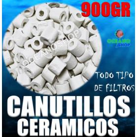 canutillos ceramicos ceramica bacterias filtro acuario pecera filtracion 900gr