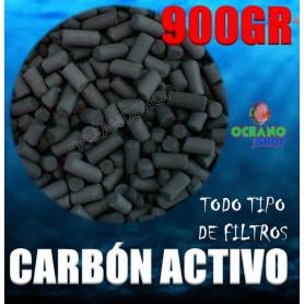 Carbón activo 900gr para acuario todo tipo de filtros