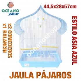 Jaula pájaros 44,5x28x57 cm