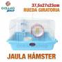 Jaula hámster pequeños roedores 37,5x27x23 cm