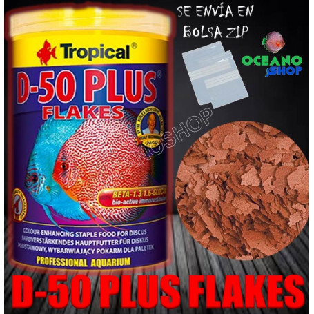 d-50 plus tropical flakes escamas rojas ciclidos cichlids a granel barato discos color