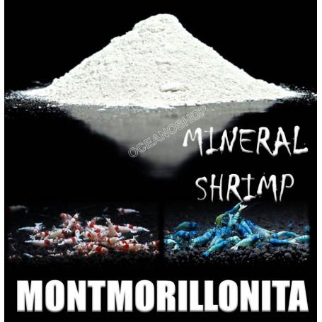 Montmorillonite montmorillonita shrimp gambas crystal mineral bentonita bentonite sodium sodio