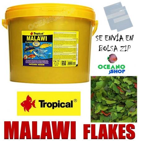 Malawi tropical flakes escamas a granel