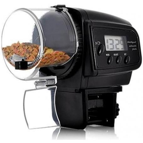 Alimentador comedero digital automático para peces