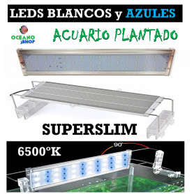 Pantalla led SUPERSLIM 60cm hasta 80cm 24W 2400LUMENES