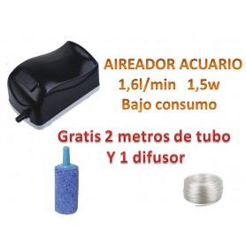 Compresor Bomba de Aire Oxigenador de Acuario y Pecera