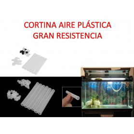 20 EN 1 pcs.Tubo Difusor Cortina Plástica de Aire Acuario, gambario tortuguera
