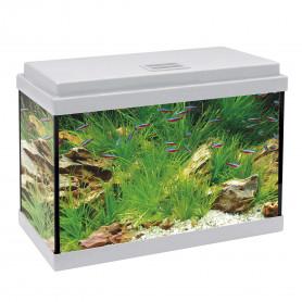 Kit AQUA-LED 40 con filtro interior (20 l) blanco