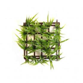 Planta Cesped Plástico Surtida Boyu 15x15 cm
