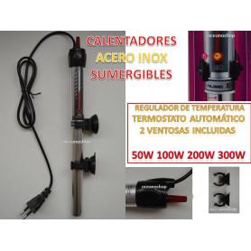 Calentador ACERO INOXIDABLE 50W 100W 200W 300W