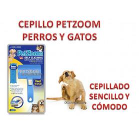 CEPILLO PET ZOOM anunciado en TV, Retractil Especial Perros, gatos