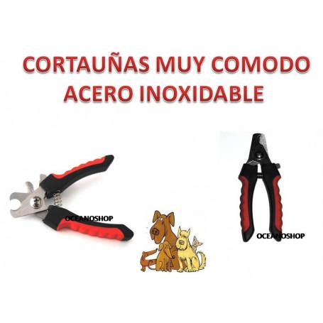 CORTAUÑAS PARA PERRO, GATO, CONEJO.... de acero inoxidable