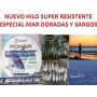 Hilo sedal pesca pescar Profesional 100% NYLON super resistente mar dorada sargos