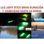 BASTONCILLOS LUZ QUIMICA Ø4.5  PESCA NOCHE FISHING STICK NIGHTLIGHT
