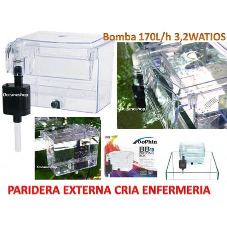 PARIDERA MOCHILA 3,2W bomba 170l/h DOPHIN