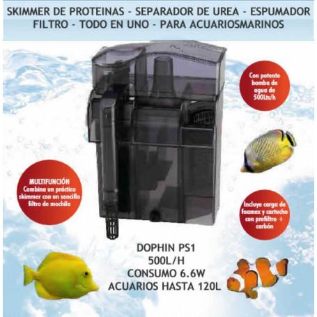"""Skimmer separador urea y filtro mochila DOPHIN PS1 """"todo en 1"""""""