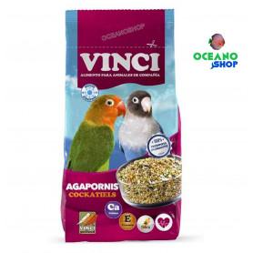 Vinci Alimento agapornis y ninfas 1kg
