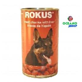Rokus Perros higado Lata 1,240kg