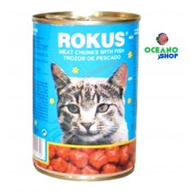 Rokus gato pescado Lata 410gr