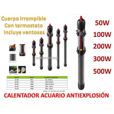 Calentador 300w anti explosion