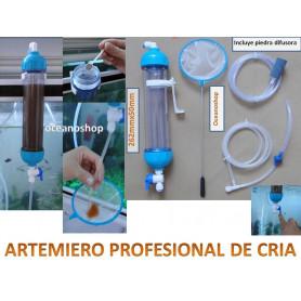 Artemiero profesional cria de artemia