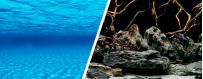 Fondo decorativo para acuarios