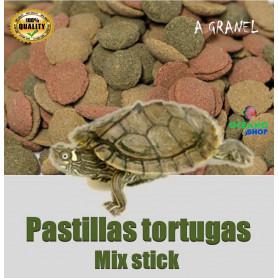 Alimento mix tortugas acuaticas y terrestres tierra
