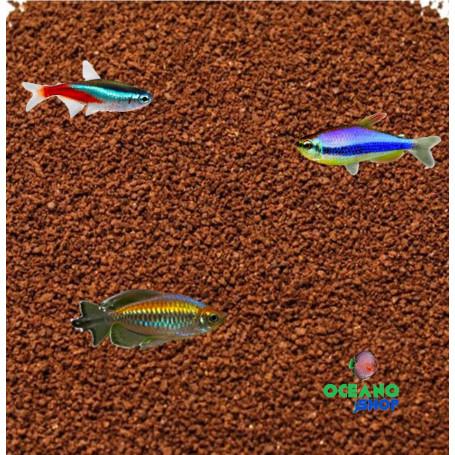 Tetra granules comida alimento peces tropicales barata a granel