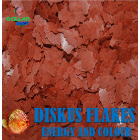 diskus flakes energy and colour escamas peces disco