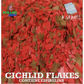 escamas ciclidos cichlid flakes alimento comida acuario tanganika malawi