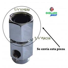 "Prolongador 3/4""H 3/4""M osmosis inversa"