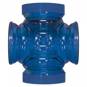 Cruce de CRITTERTRAIL azul 57.15 mm