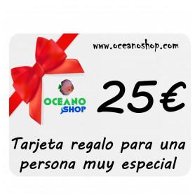 Tarjeta regalo acuario 25€