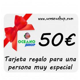 Tarjeta regalo acuario 50€