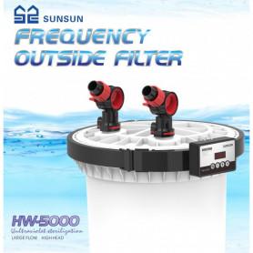 Filtro externo 5000 + UV HW-5000 sunsun
