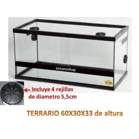 Terrario radys 60x30x33