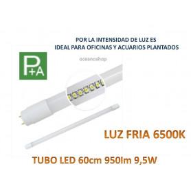 TUBO LED T8 60cm 950 lumenes 9,5W luz BLANC