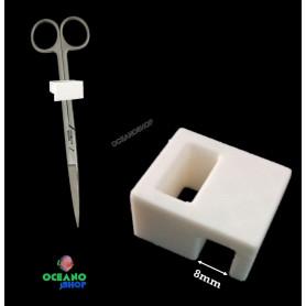 clip soporte poda acuario utensilios tijreas pinzas
