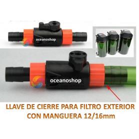 Llave de Cierre 12/16mm compatible con filtro exteriores
