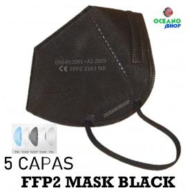 10 UDS MASCARILLAS FFP2 KN95 5 CAPAS