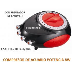 Compresor de aire 4 salidas