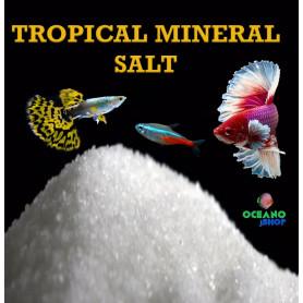 750gr Sales minerales especial acuarios tropicales. Tropical mineral salt