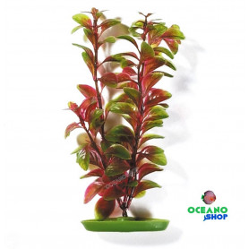Planta plastico Marina 20cm Red Ludwigia PP-819
