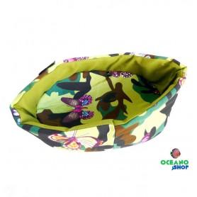 Cama mariposa verde Nº1 28x20cm