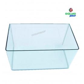 Nº13 acuario 60x30,4x38 cm vidrio curvo 69,3l