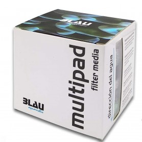 Multipad Filter Media 73 g Blau Aquaristic