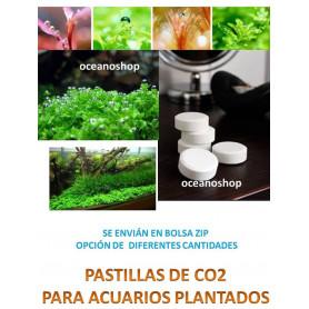 110 pastillas de CO2